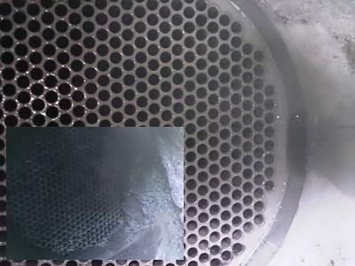 verschil gereinigde-en vervuilde rookgaskoeler